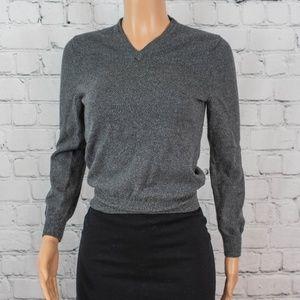Express wool grey sweater